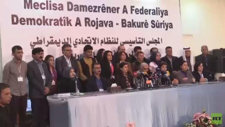 الأكراد يقرون دستورا لمناطق سيطرتهم شمال سوريا