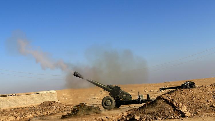 القوات العراقية تواصل تقدمها شمال الموصل بإسناد من طيران التحالف