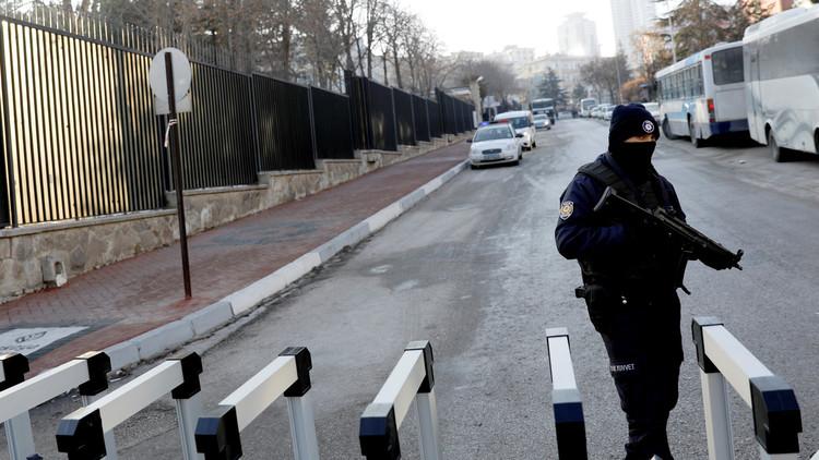 القبض على 8 أشخاص خططوا لتنفيذ هجمات إرهابية في أنقرة عشية رأس السنة