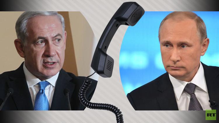 بوتين يبحث مع نتنياهو أزمة سوريا وتسوية النزاع الفلسطيني الإسرائيلي