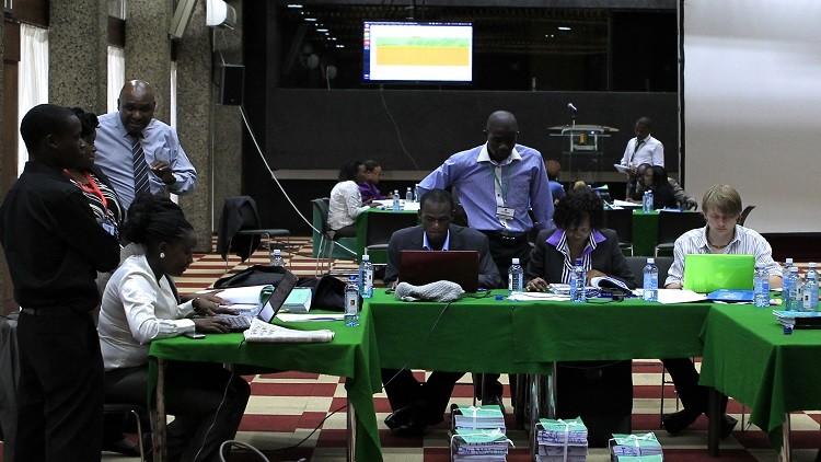 التحضير للانتخابات الرئاسية في كينيا