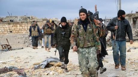 مسلحون في حلب