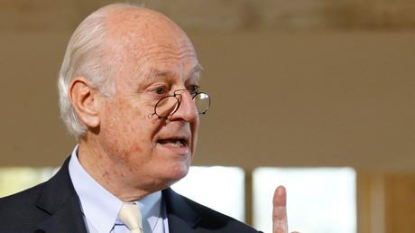 لمبعوث الدولي الخاص إلى سوريا ستيفان دي ميستورا