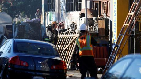 السلطات: عدد ضحايا الحريق في أوكلاند بكاليفورنيا قد يبلغ 40 قتيلا