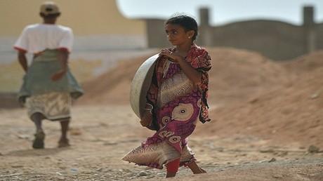 صورة أرشيفية لطفلة يمنية