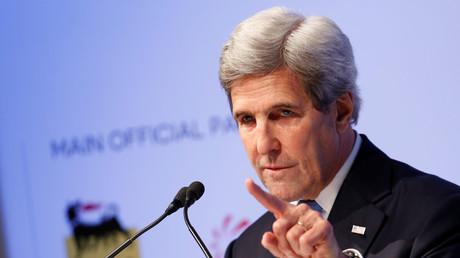 وزير الخارجية الأمريكي جون كيري