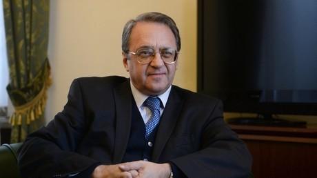 البعوث الخاص للرئيس الروسي إلى منطقة الشرق الأوسط ودول إفريقيا ميخائيل بوغدانوف