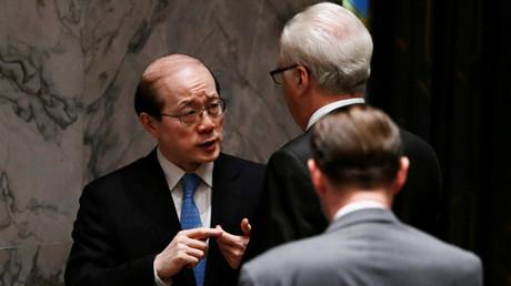 المندوب الصيني في الأمم المتحدة ليو جي يي