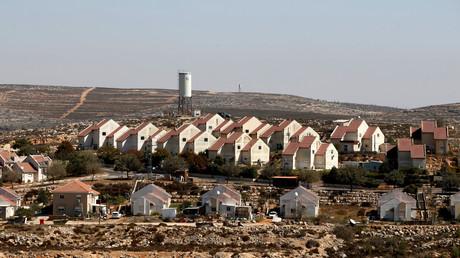إحدى المستوطنات الإسرائيلية في الضفة الغربية المحتلة