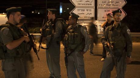 عناصر شرطة الحدود الإسرائيلية