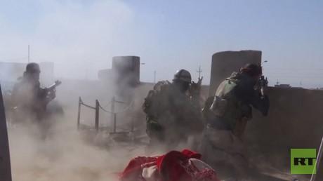القوات العراقية تعزز مكاسبها شرق الموصل
