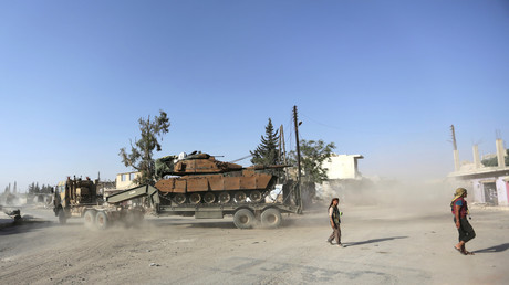 الجيش التركي في شمال سوريا