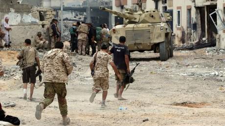 قوات تابعة للحكومة الليبية