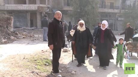 خاص لـ RT..  الصور الأولى من حلب القديمة