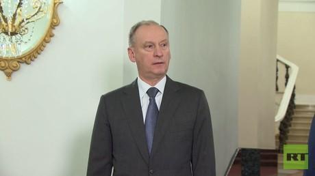 نيقولاي باتروشيف سكرتير مجلس الأمن الروسي