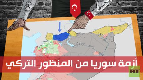 أزمة سوريا من المنظور التركي