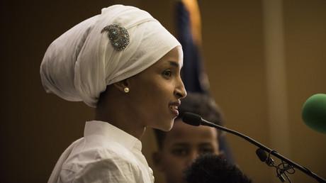 النائبة الأمريكية المسلمة إلهان عمر