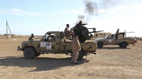 منطقة السدرة - ليبيا - أرشيف