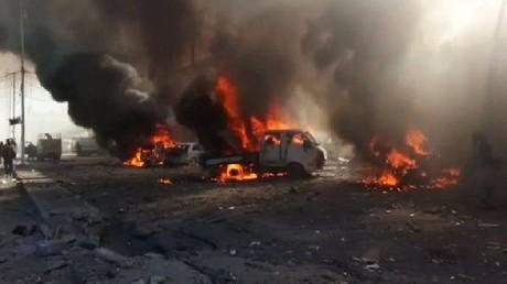 طائرات تقصف ثلاثة أسواق في مدينة القائم