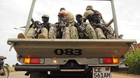 عناصر من قوات جنوب السودان الحكومية