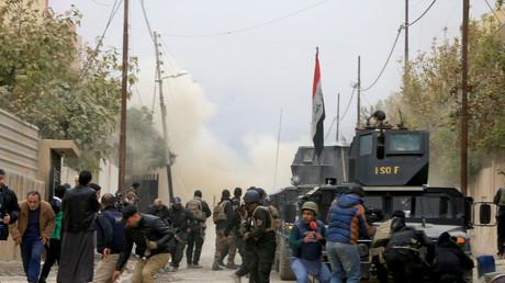 قصف في مناطق خاضعة لسيطرة الجيش في الموصل