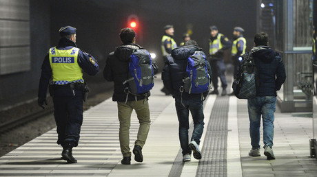 الأمن السويدي