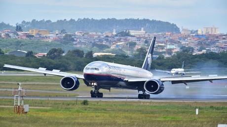 """طائرة """"بوينغ"""" من طراز 777"""