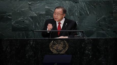 الأمين العام الأمم المتحدة بان كي مون