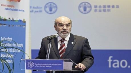 جوزيه غرازيانو دا سيلفا، المدير العام لمنظمة الأغذية والزراعة العالمية (فاو)