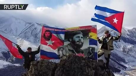 مبادرة تسمية جبل في القوقاز باسم الراحل فيديل كاسترو