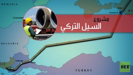 """مجلس الوزراء الروسي يصادق على اتفاق خط الغاز """"السيل التركي"""""""