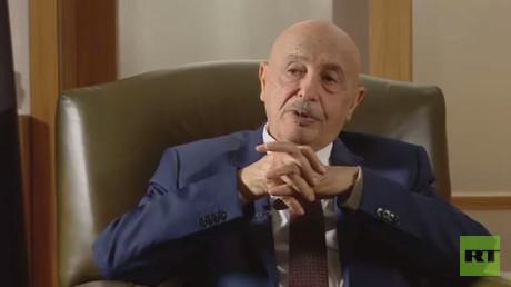 رئيس البرلمان الليبي عقيلة صالح عيسى
