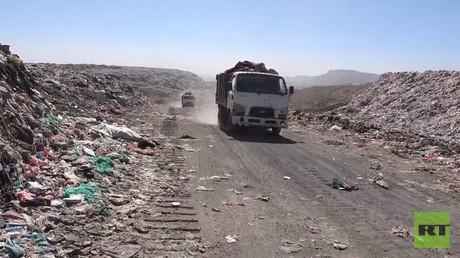 صنعاء تعاني من النفايات والمخلفات السامة