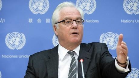 مندوب روسيا الدائم لدى الأمم المتحدة، فيتالي تشوركين