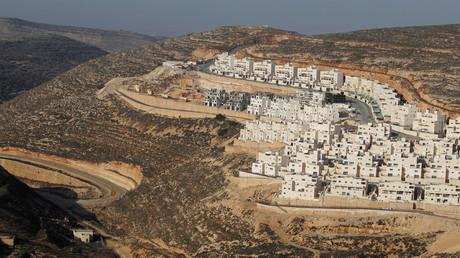 مستوطنة إسرائيلية مقامة على أراضي الضفة الغربية
