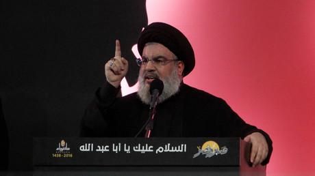 حسن نصر الله الأمين العام لحزب الله اللبناني