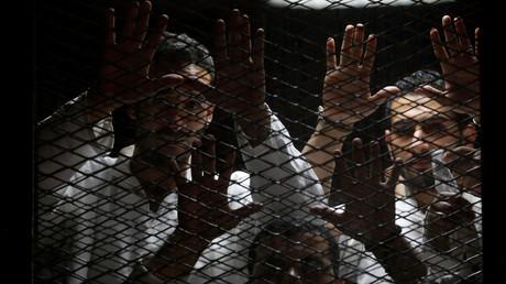محاكمة أنصار الإخوان في مصر - أرشيف