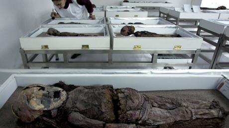 تطبيق اختبارات الحمض النووي على أقدم مومياوات في العالم