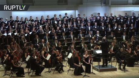 أوركسترا مسرح ماريينسكي تقدم عرضا تكريميا لضحايا تحطم الطائرة