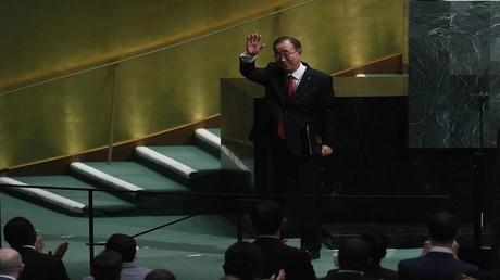 الأمين العام لمنظمة الأمم المتحدة بان كي مون