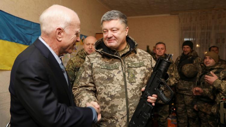 ماكين: على الولايات المتحدة التصدي لروسيا