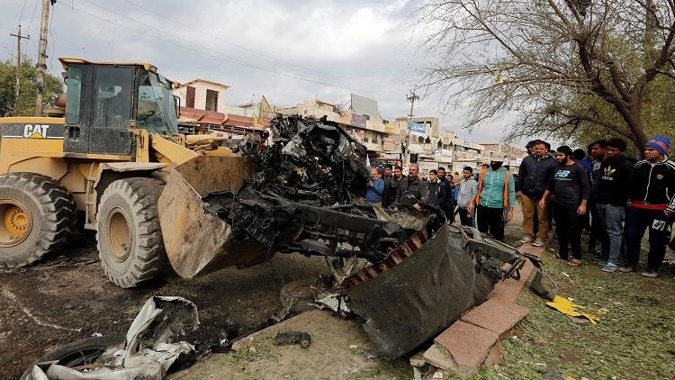 نجاة المفتي مهدي الصميدعي من تفجير غربي العاصمة العراقية بغداد