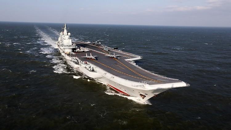 حاملة الطائرات الصينية تقلق اليابان وترعب تايوان