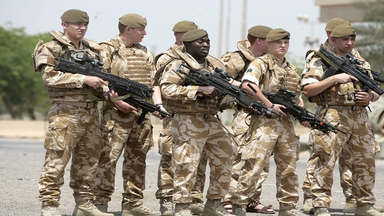 مصرع عسكري بريطاني في العراق