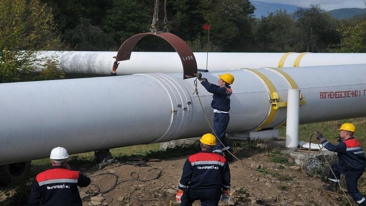 ارتفاع حجم إمدادات الغاز إلى أوروبا عبر أوكرانيا
