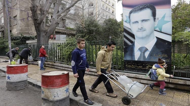 الحكومة السورية تتوعد المستنفعين من عطش دمشق !
