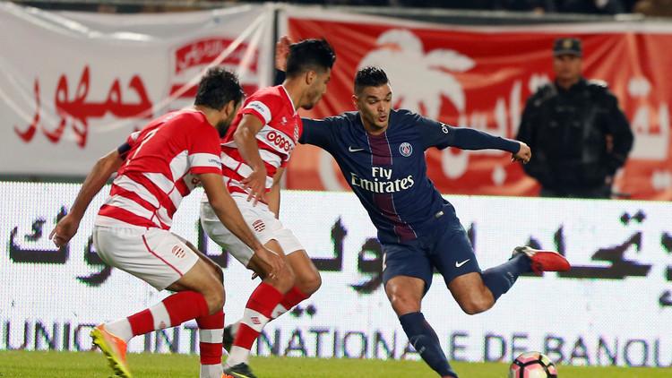 باريس سان جيرمان يهزم النادي الأفريقي وديا