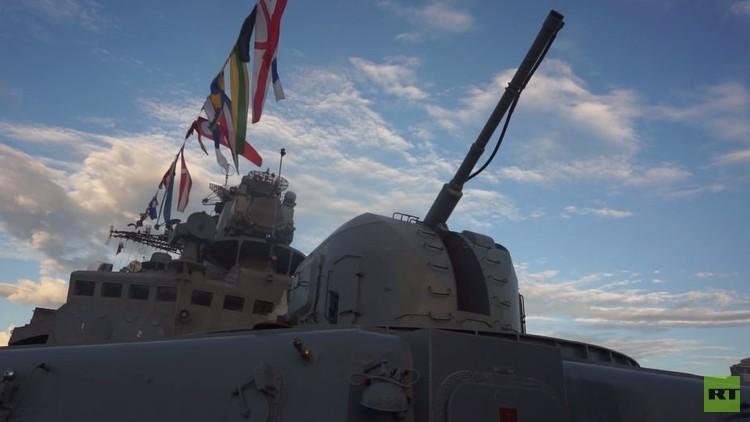 سفينتان روسيتان لمكافحة القرصنة في الفلبين