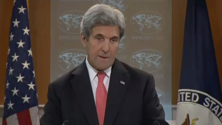 كيري: واشنطن تدعم محادثات أستانا حول سوريا