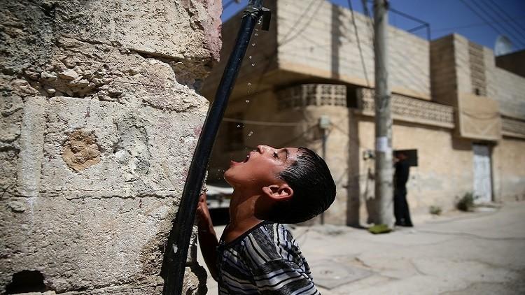 الأمم المتحدة ودمشق: قطع المياه عن دمشق جريمة حرب